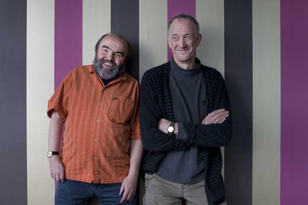 Andy Hamilton and Guy Jenkin have written for Comic Relief for 21 years