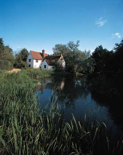 Willy's cottage is still recognisable from John Constable's work