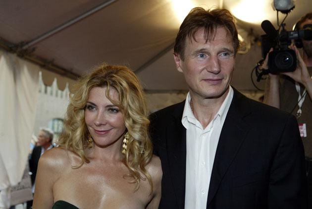 Liam Neeson and his wife Natasha Richardson arrive on the red carpet for the gala screening of Kinsey during the 29th Annual Toronto International Film Festival on September 12, 2004 in Toronto, Canada.