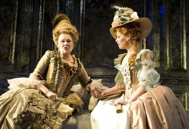Madame De Sade by Yukio Mishima, directed by Michael Grandage, with Judi Dench as Madame de Montreuil and Fiona Button as Anne
