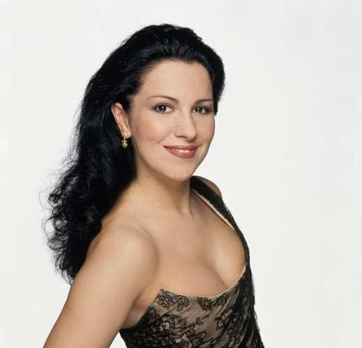 Angela Gheorghiu went straight to at No 1 in the classical music chart last week with her evocative version of Madama Butterfly