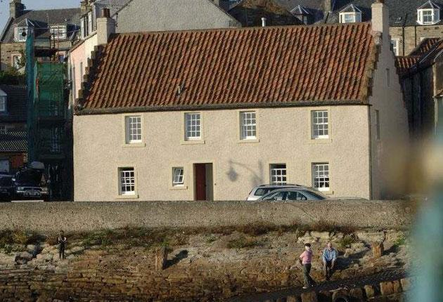 Port of call: luxury lodging in St Monans