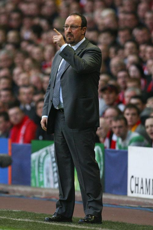 Benitez said Liverpool could counter-attack better than they did
