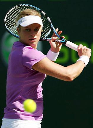 Kim Clijsters won the US Open in 2005