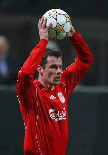 Carragher says Liverpool were a lot calmer this time when an opportunity arose to close the gap