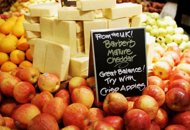 Sales of organic fruit has dropped by a reported 16.5 per cent