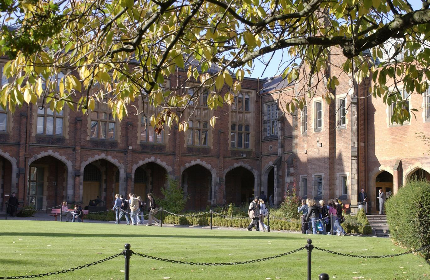 Queens University, Belfast, features on the Northern Irish £5 note