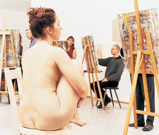 Nude models will feature on a new television show aiming to spark a revival of traditional painting and drawing