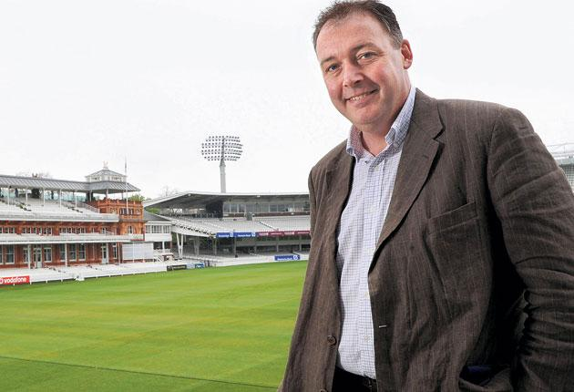 Angus Fraser, Middlesex's managing director of cricket, at Lord's