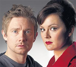 Martin Freeman and Rachael Stirling exchange genders in a new ITV comedy.