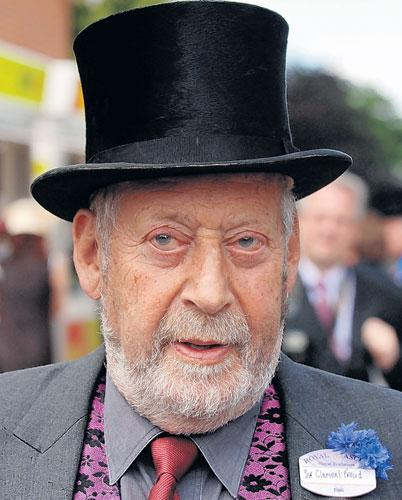 Freud attends Ladies Day at Royal Ascot in 2006