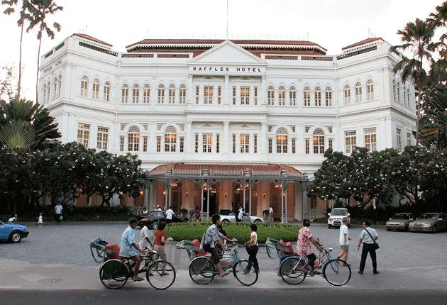 Just $450m will buy you all the splendour and legend associated with Raffles
