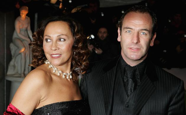 Robson Green with his wife Vanya