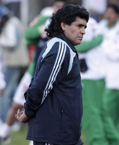 Bolivia beat a breathless Argentina - managed by Diego Maradona - 6-1 at 8,500 feet