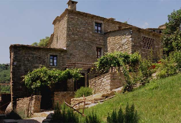 Fulvio Di Rosa's restored 14th century hamlet is made up of villas that feature equipped kitchens as well as a village swimming pool