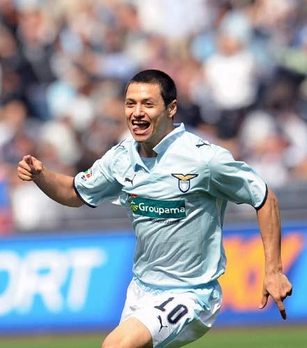 Zarate has scored 12 league goals for Lazio this season