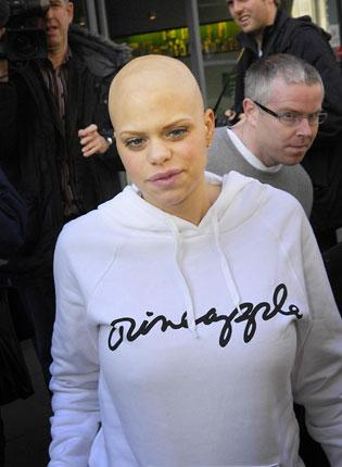 Reality TV star Jade Goody died of cervical cancer on Mother's Day