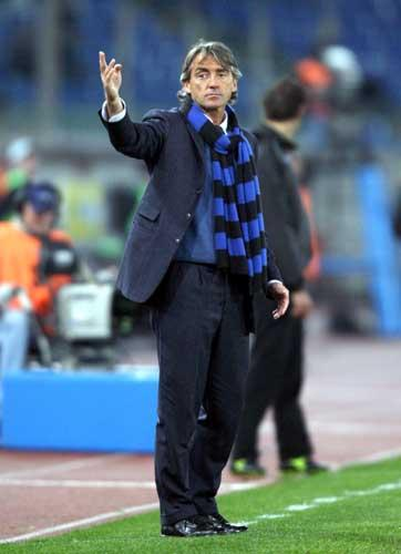 Mancini left Inter at the end of last season to be preplaced by Jose Mourinho