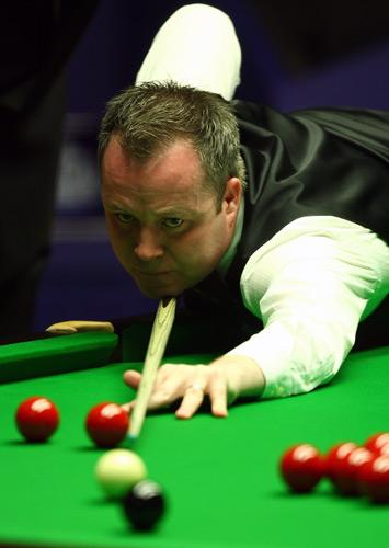 Higgins is bidding for his third Crucible title