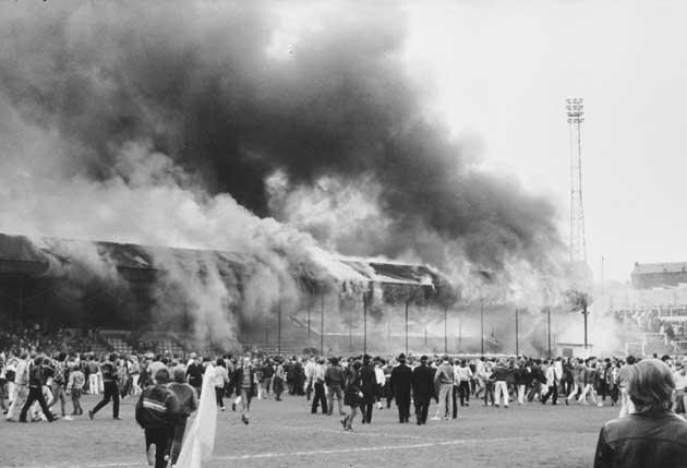 <b>Bradford City 0-0 Lincoln City, Old Division Three, 11 May 1985</b><br/><br/> It would be impossible to recall the dramatic last days of any season from the post-war era without remembering the 56 people who tragically lost their lives in the fire at B