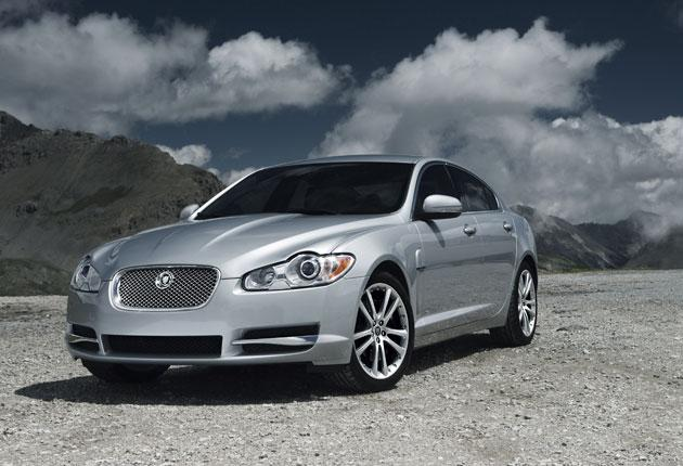 Purring: Expect to see a lot of Jaguar XF diesels on the road soon