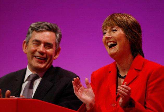 Harriet Harman: 'My ambition has been to run and win the deputy leadership in order to be a loyal and supportive deputy to Gordon and that is what I am doing.'