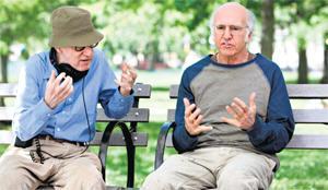 Woody Allen has cast fellow neurotic New Yorker Larry David as his latest anti-hero.