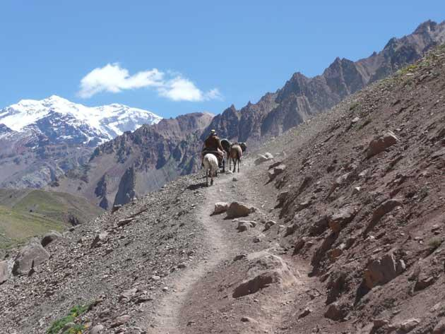 Take the high road: Mountain treks take in the beauty of the Andes