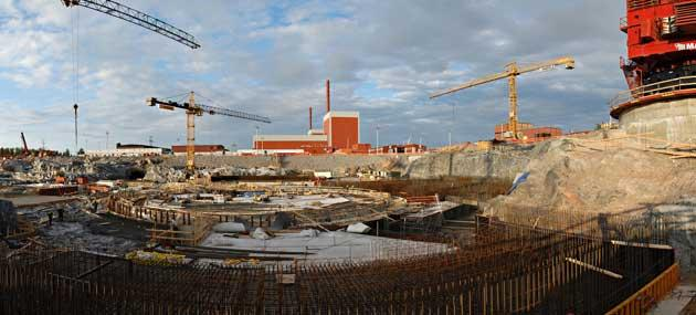 Construction of the first EPR at the Olkiluoto site in Finland is already three years behind schedule