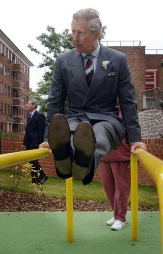 Show a little sole: Prince Charles flexes his architectural prejudices