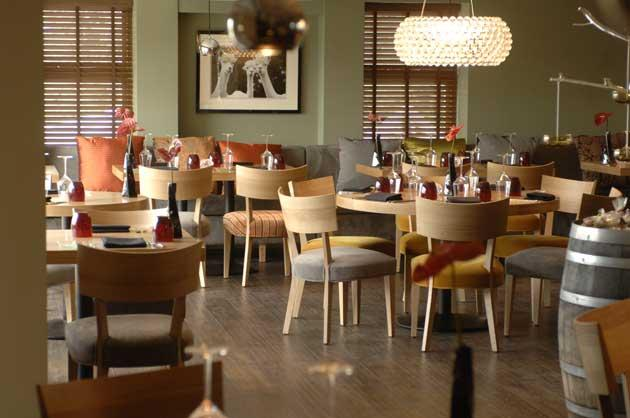 There's a relaxed, continental feel to the restaurant, which attracts a mix of age groups