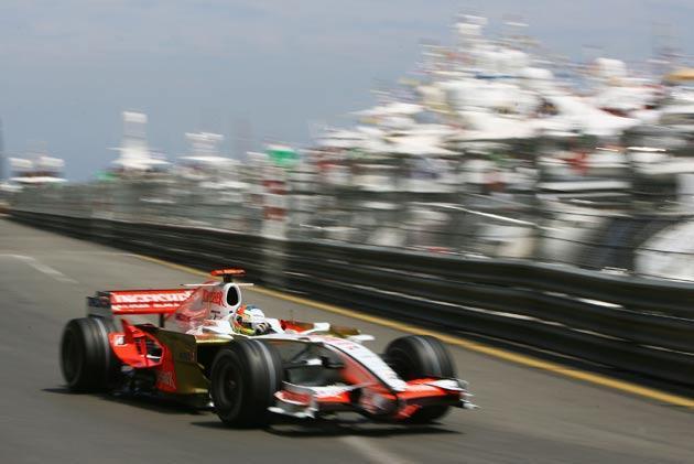 Sutil pictured at last year's Grand Prix in Monaco