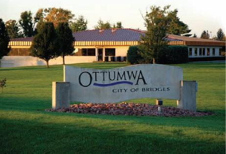 Ottumwa was, for a time, gaming's capital city
