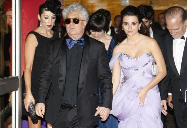 Director Pedro Almodovar and his 'muse' Penelope Cruz, who has starred in four of his recent films, on the red carpet at Cannes