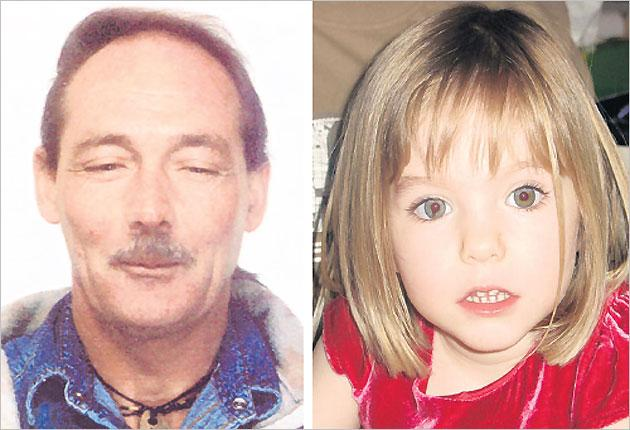 Convicted paedophile Raymond Hewlett, who is being sought in connection with the disappearance of Madeleine McCann