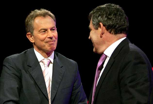 Tony Blair and Gordon Brown discussed domestic politics