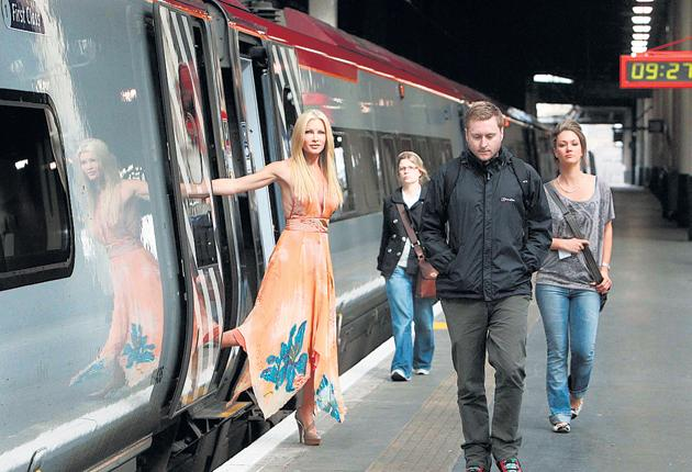 Virgin Trains has a cheeky, cheesy new TV ad out and it's a delight. It's by Miles Calcraft Briginshaw Duffy and, aw, it's about a loved-up girl off (by train) to see her fella