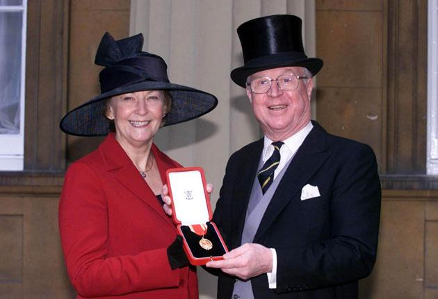 Sir Nicholas Winterton and his wife Ann have said they will stand down at the next general election