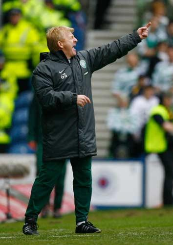 Strachan quit as Celtic manager after their failure to retain the Scottish league crown