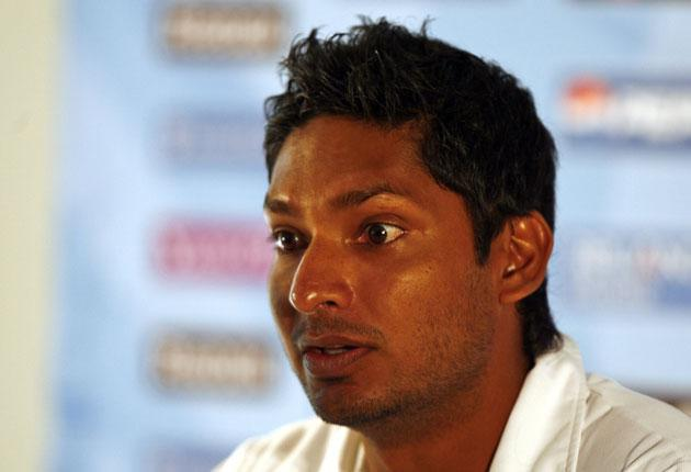 Kumar Sangakkara says that Sri Lanka playing cricket is a sign that normality is returning