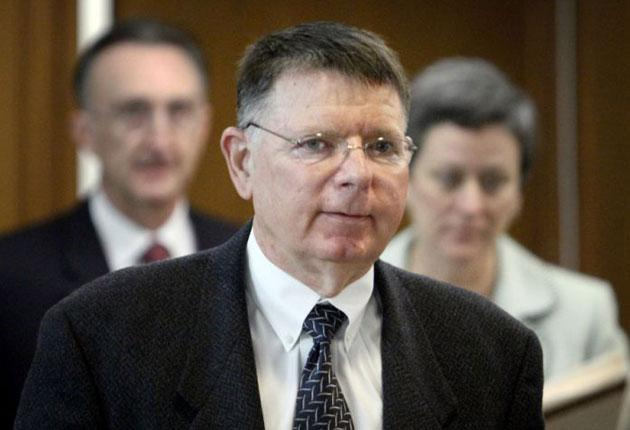 Dr George Tiller who was killed by a gunman as he entered his church in Wichita yesterday while his wife sat in the choir