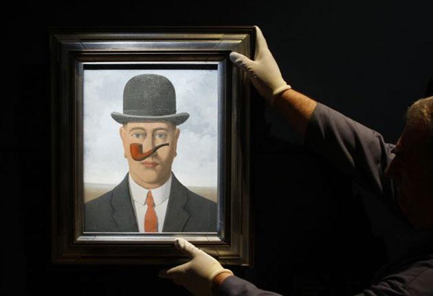 Magritte's painting 'Good Faith'