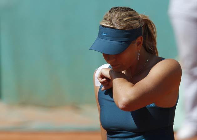 Sharapova was trounced 6-0, 6-2 by Dominika Cibulkova