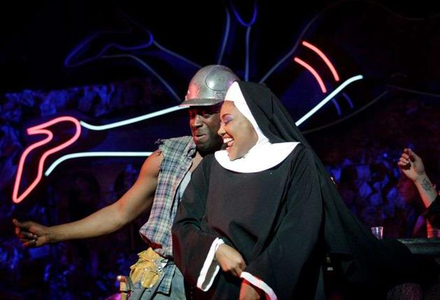 Force of habit: Patina Miller is on blistering form as Deloris in 'Sister Act'