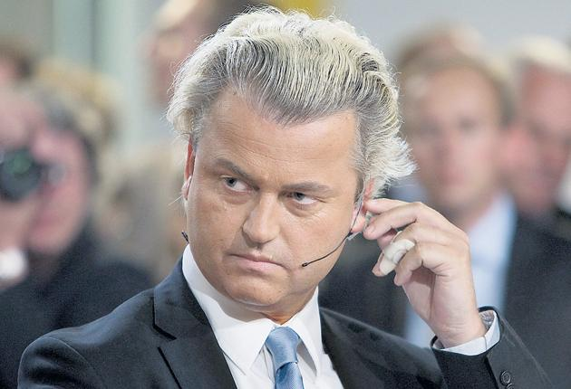 Geert Wilders' Freedom Party won 17 per cent of the vote in the European elections in the Netherlands