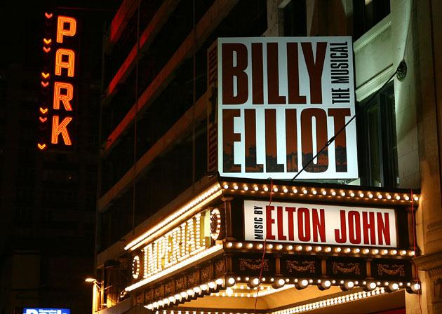 Billy Elliot equalled The Producers in earning 15 nominations