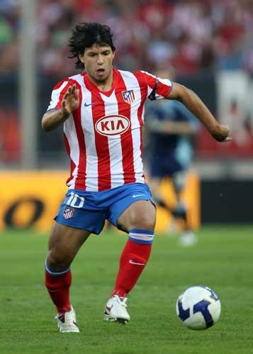 Aguero scored 17 goals in La Liga last season