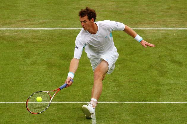 Murray is yet to win a major title on grass