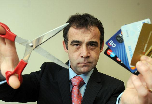 Service your cards, sir? Michael Le Vell, who plays grumpy mechanic Kevin Webster in ITV soap Coronation Street, has an eye for a loophole