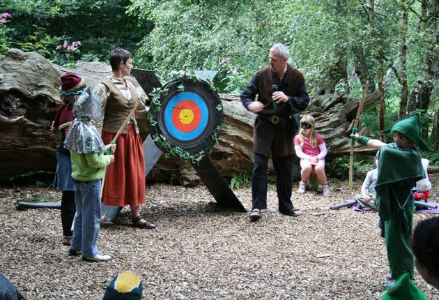 Boys in the hood: Enjoy merry times with the family in Sherwood Forest